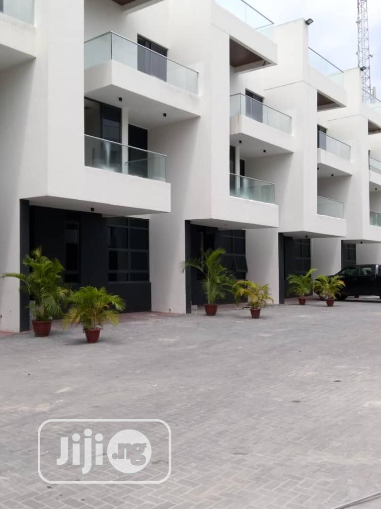 Newly Built Exquisite 4 Bedroom Service Townhouse With a Bq