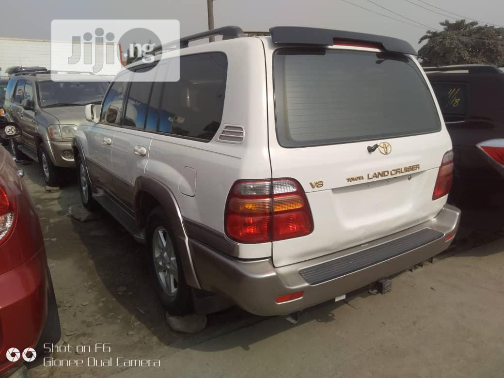 Toyota Land Cruiser 2003 3.0 D Automatic White | Cars for sale in Apapa, Lagos State, Nigeria