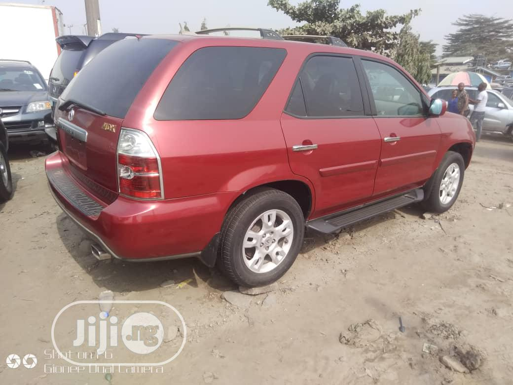 Acura MDX 2005 Red | Cars for sale in Apapa, Lagos State, Nigeria