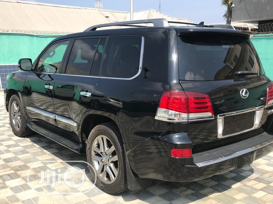 Lexus LX 2015 570 Base Black | Cars for sale in Amuwo-Odofin, Lagos State, Nigeria
