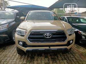 Toyota Tacoma 2018 TRD Off Road Beige | Cars for sale in Lagos State, Ikeja
