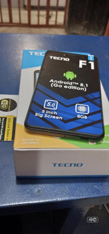 New Tecno F1 8 GB Black