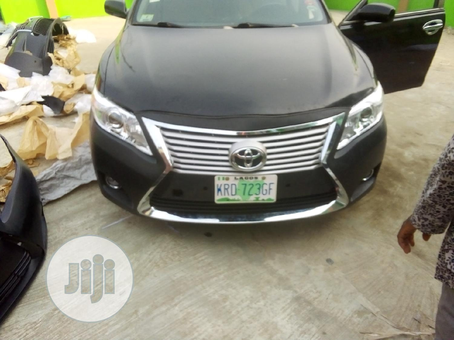 Toyota Camry 2007 Upgraded To Lexus Face