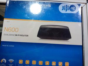 Linksys N600, Dual Band Wifi Router, Model No E2500 | Networking Products for sale in Lagos State, Ikeja