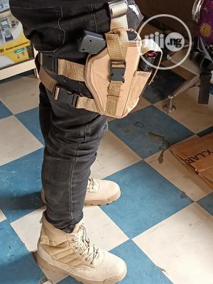 Elite Survival Tactical Belt Holster And Desert Boot | Safetywear & Equipment for sale in Lagos State, Ikeja