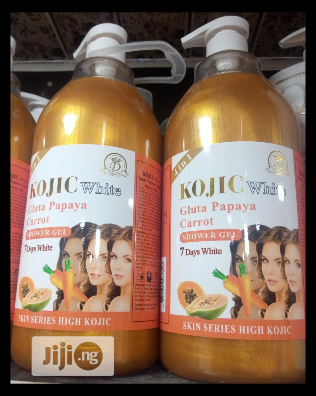 Kojic White Gluta Papaya Arbutin 7 Days White Shower Gel