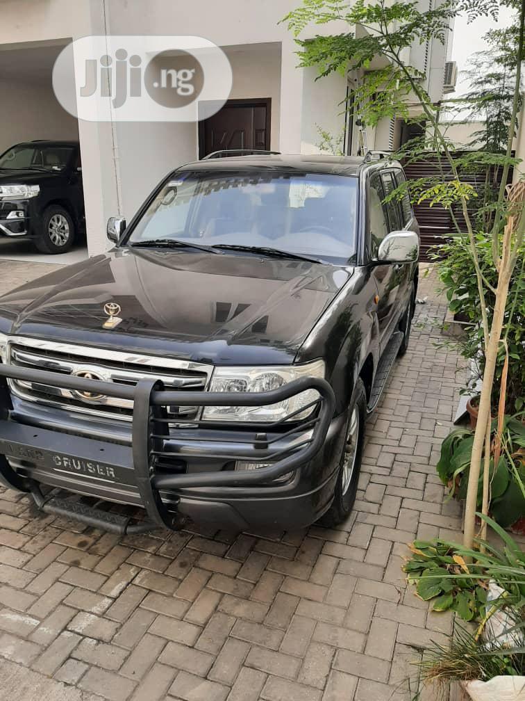 Toyota Land Cruiser 2006 Black   Cars for sale in Ikoyi, Lagos State, Nigeria