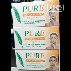 Pure Whitening Exfoliating 5 Days Action Soap (6pics in Pk)   Bath & Body for sale in Lagos State, Ojo