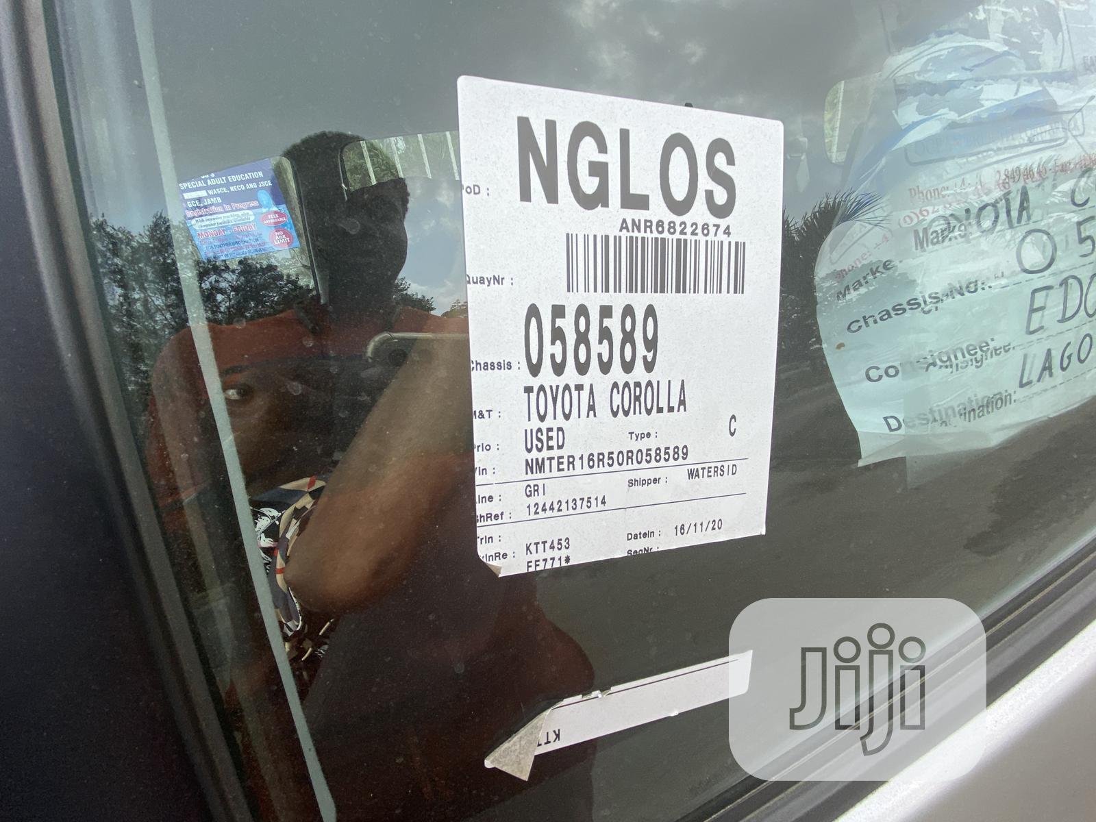 Toyota Corolla 2005 Verso 1.6 VVT-i Silver | Cars for sale in Amuwo-Odofin, Lagos State, Nigeria