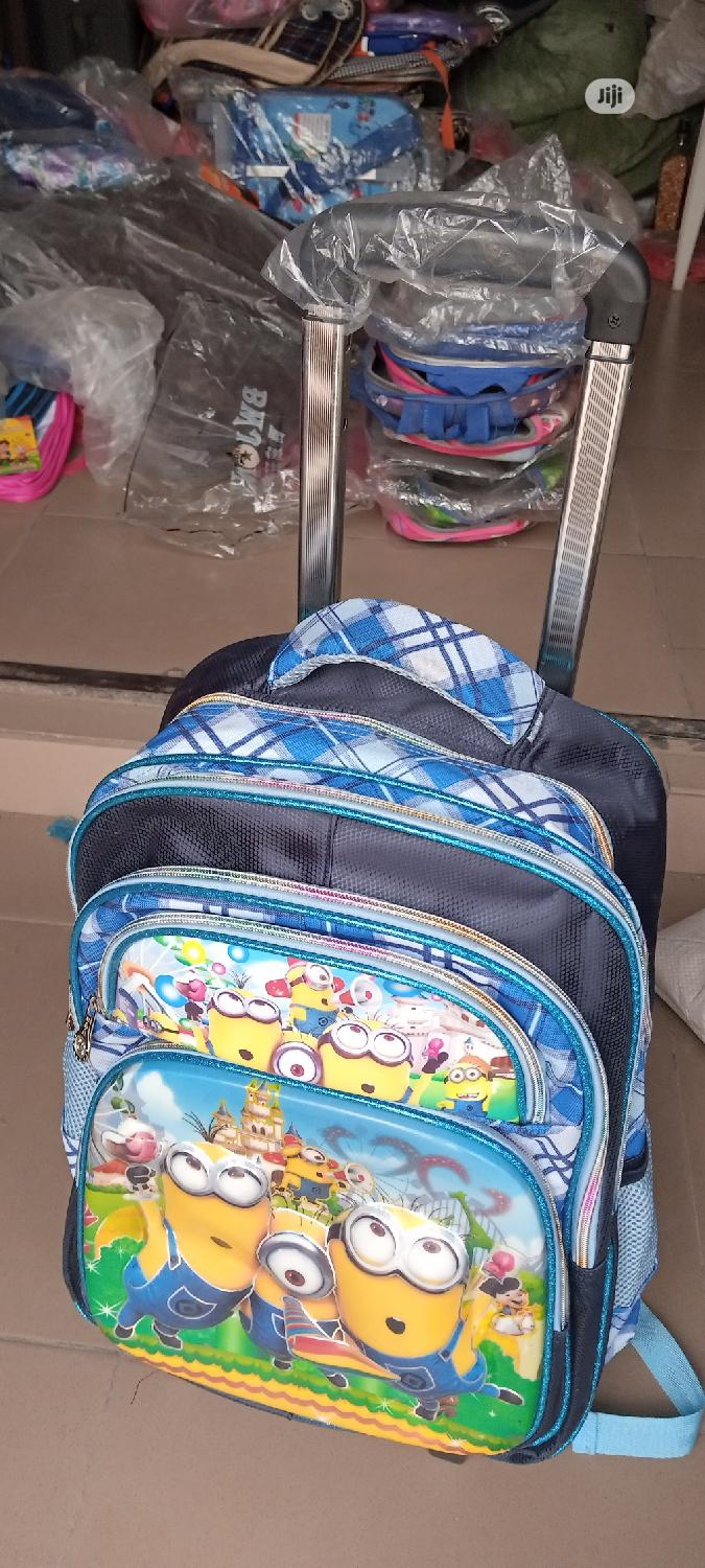 Trolley School Bag for Children | Babies & Kids Accessories for sale in Ojo, Lagos State, Nigeria