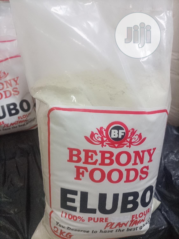 Archive: Bebony Foods, Yam Flour/Plantain Flour