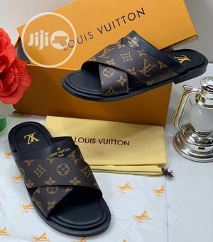 Louis Vuitton Luxury Men Slippers   Shoes for sale in Lagos State, Lagos Island (Eko)