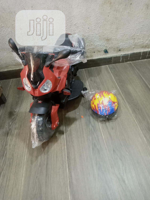 Archive: Kids Power Bike With Helmet