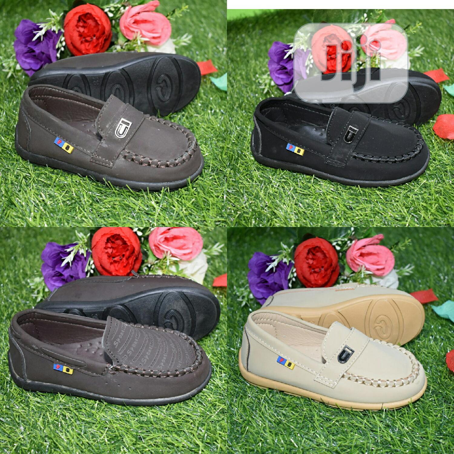 Boys Loafers - Suede (Carton of 40 Pairs)