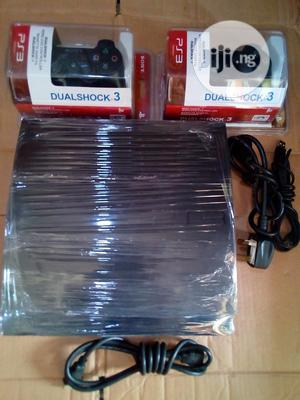 Sony Playstation 3 Slim + 2 Controllers + 10 Games   Video Game Consoles for sale in Lagos State, Ikeja