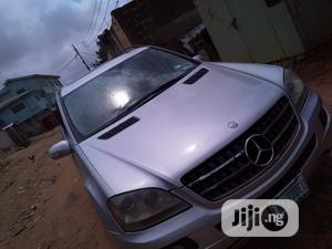 Mercedes-Benz M Class 2007 ML 350 4Matic Gray | Cars for sale in Lagos State, Ifako-Ijaiye