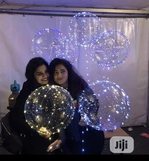 LED Valentine Party Birthday Light Transparent Balloon | Home Accessories for sale in Lagos State, Lekki