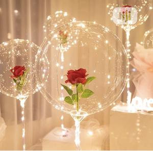Rose Led Light Party Birthday Event Battery Powered Balloon   Home Accessories for sale in Lagos State, Lekki