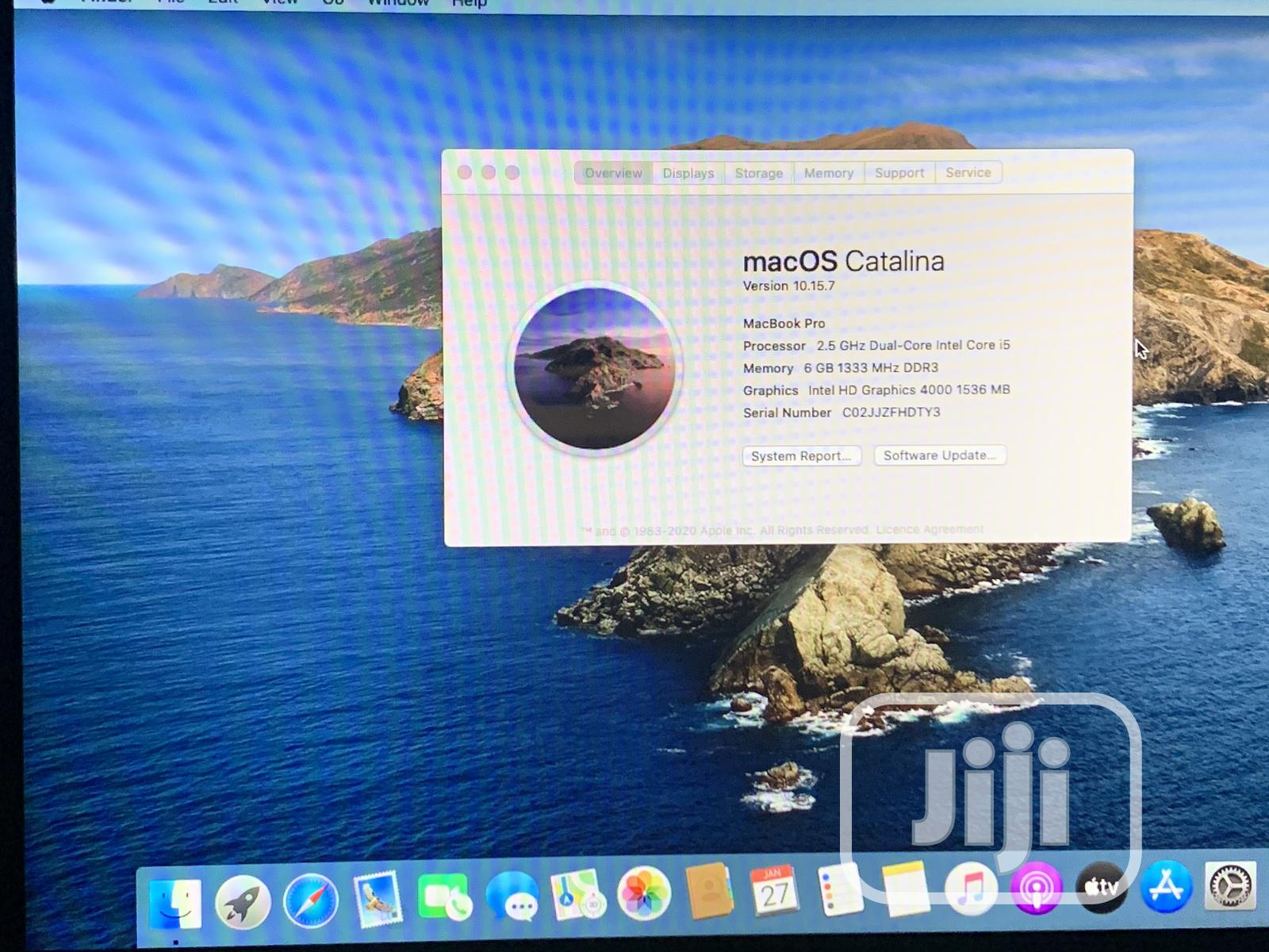 Archive: Laptop Apple MacBook 2012 6GB Intel Core i5 HDD 500GB