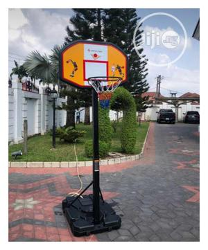 Basketball Stand With Ruber   Sports Equipment for sale in Lagos State, Ajah