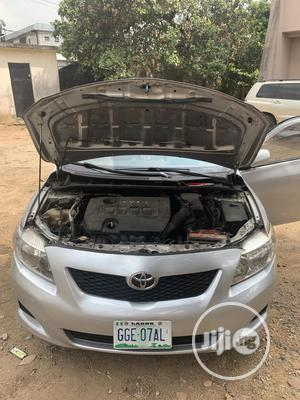 Toyota Corolla 2009 1.8 Advanced Silver | Cars for sale in Lagos State, Surulere