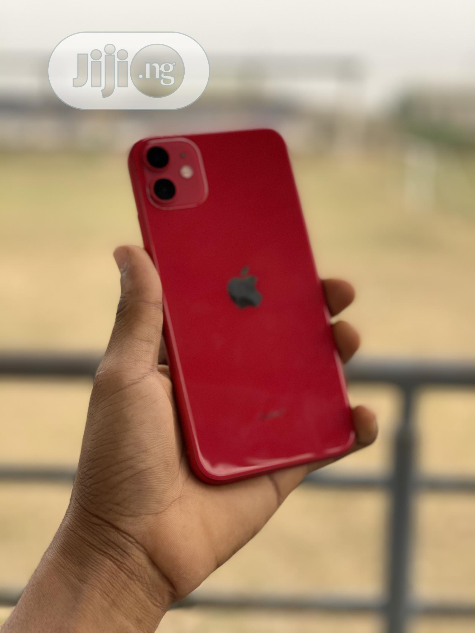 Apple iPhone 11 64 GB Red | Mobile Phones for sale in Ikeja, Lagos State, Nigeria