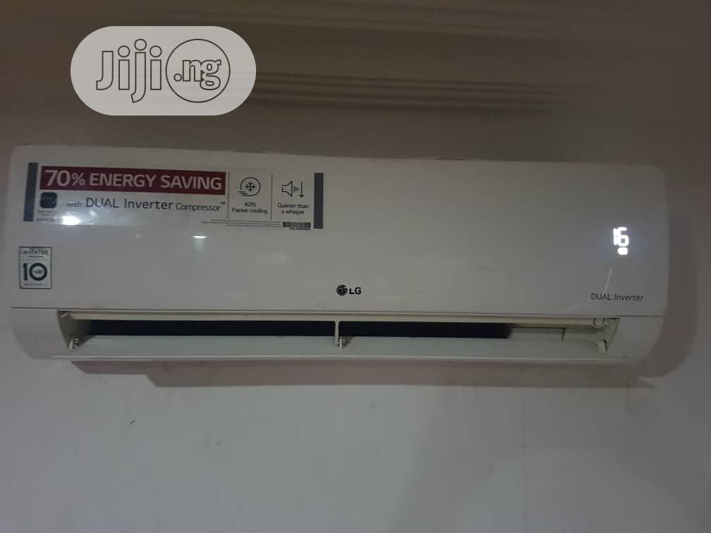 Original LG Air Conditioner 1.5hp Inverter Gen Cool | Home Appliances for sale in Amuwo-Odofin, Lagos State, Nigeria