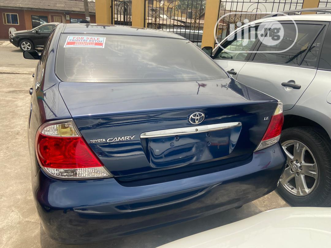 Archive: Toyota Camry 2005 Blue