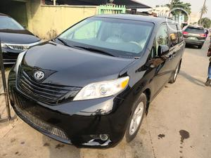 Toyota Sienna 2012 XLE 7 Passenger Black | Cars for sale in Lagos State, Surulere
