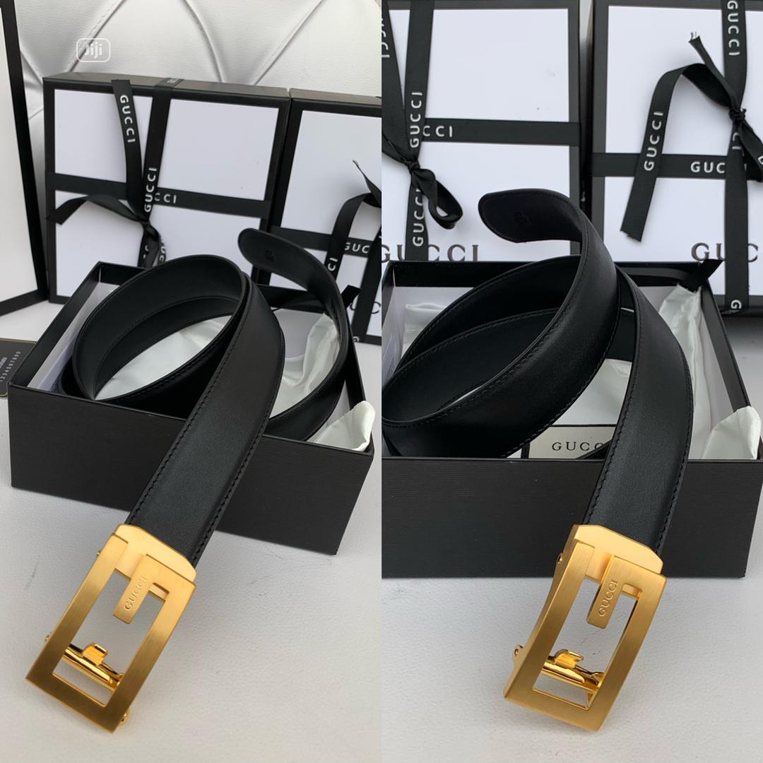 High Quality Gucci Leather Belts for Men