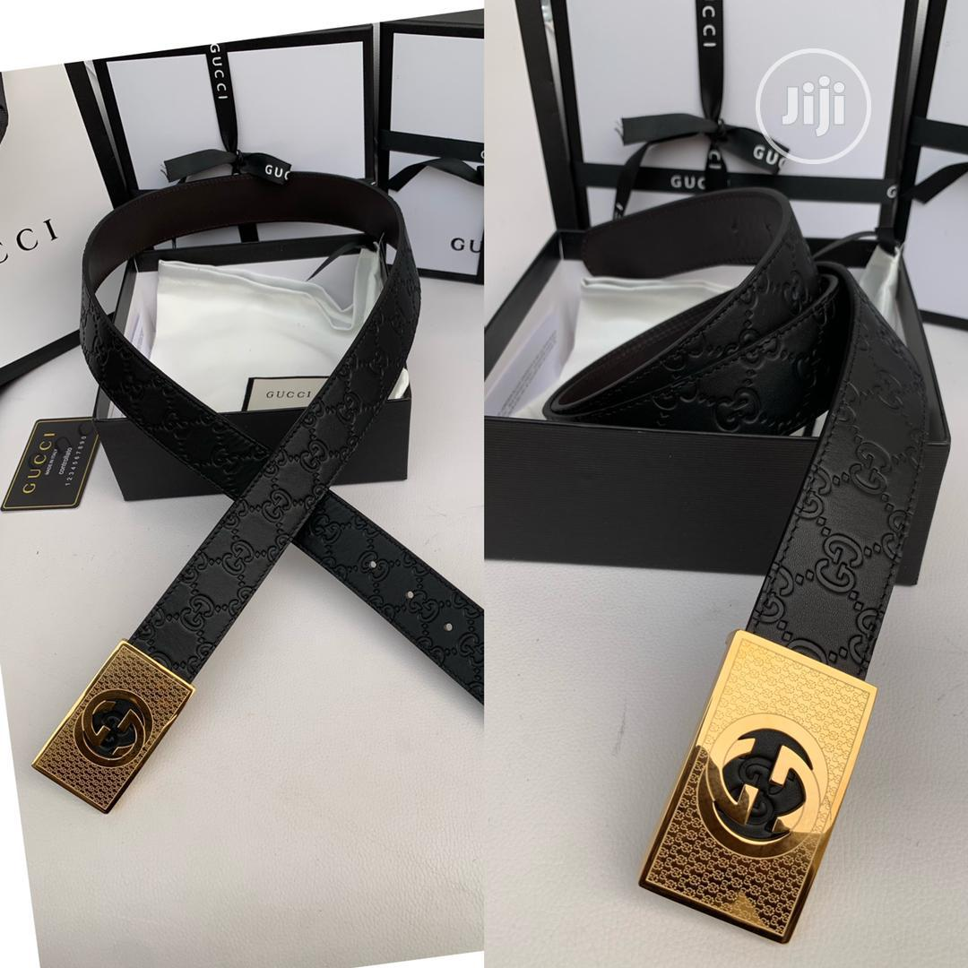 High Quality Gucci Leather Belts for Men   Clothing Accessories for sale in Magodo, Lagos State, Nigeria