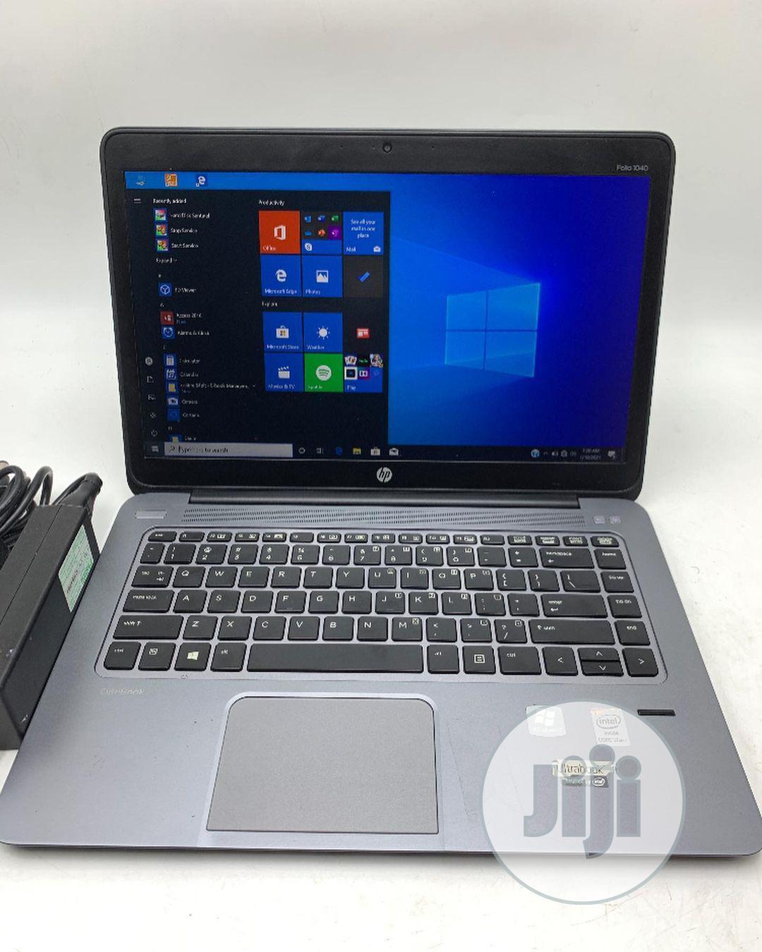 Laptop HP EliteBook Folio 1040 G2 8GB Intel Core I7 SSD 256GB