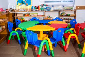 Colorful Round Table | Children's Furniture for sale in Lagos State, Lagos Island (Eko)