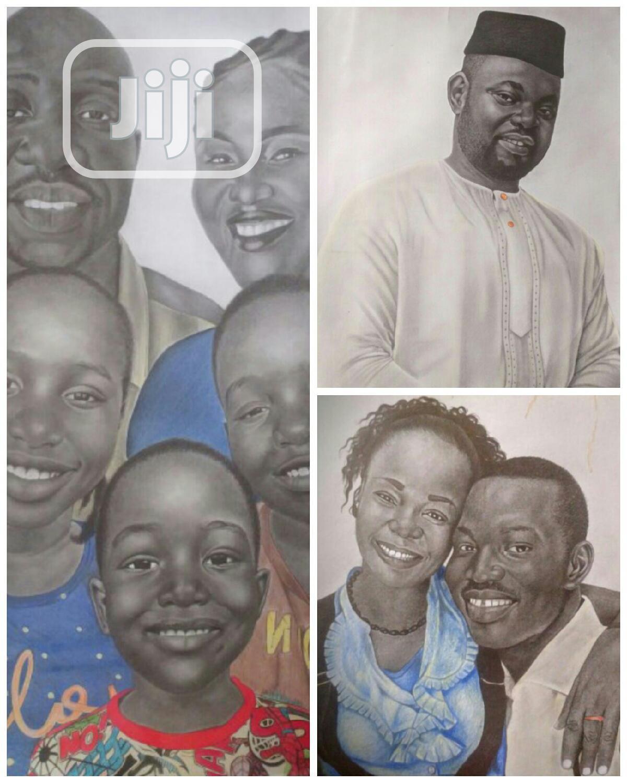 Realistic Pencil Artworks   Arts & Crafts for sale in Ibadan, Oyo State, Nigeria