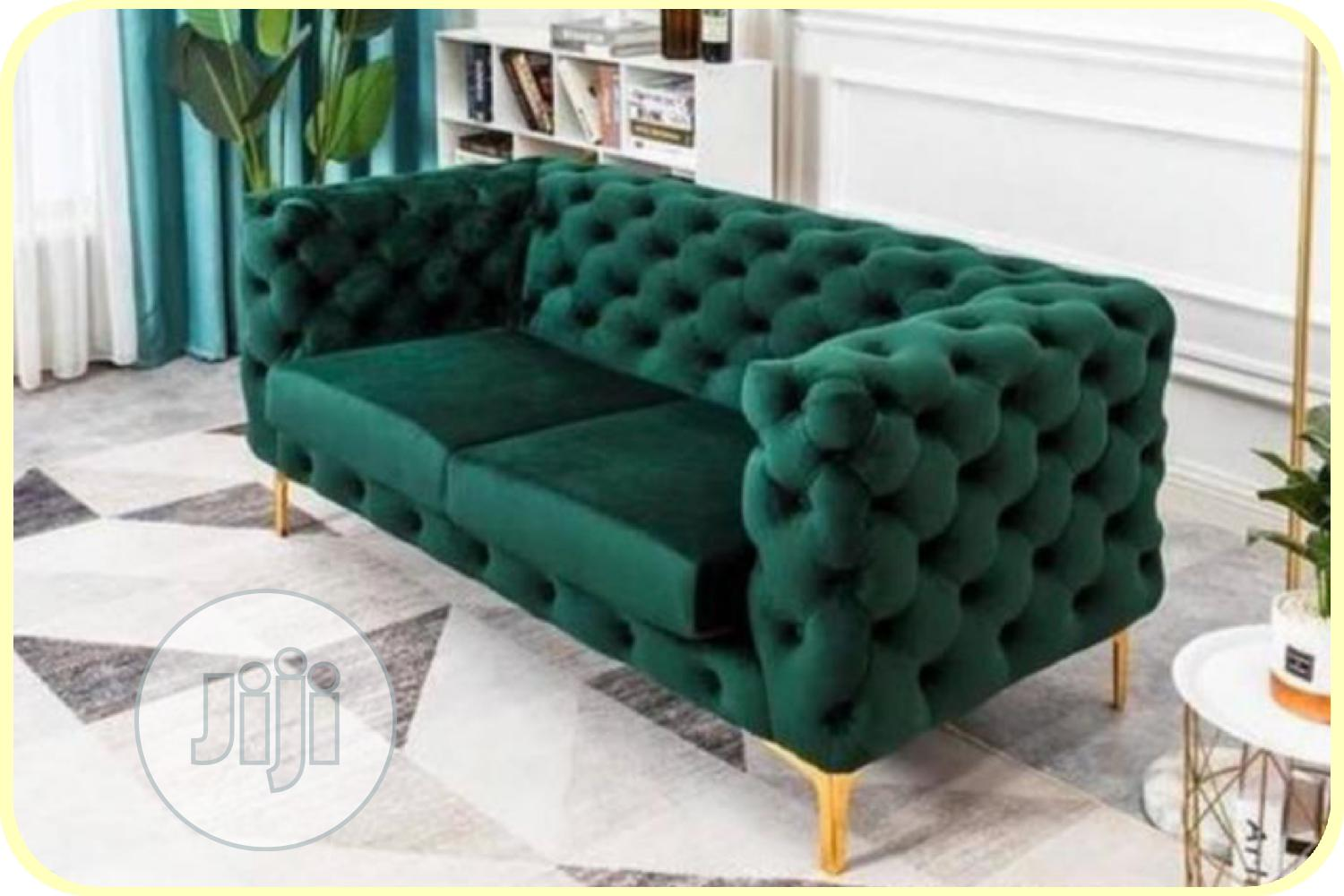 Archive: Complete Set of Button Sofa for Living Room