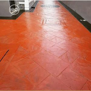 Installation Of Concrete Stamp Floor | Building & Trades Services for sale in Oyo State, Ibadan