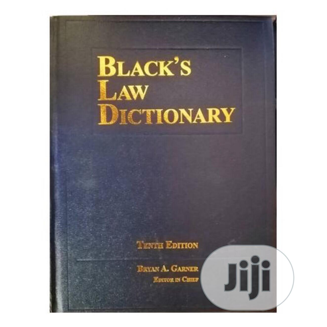 Archive: Black Law Dictionary 10th Edition