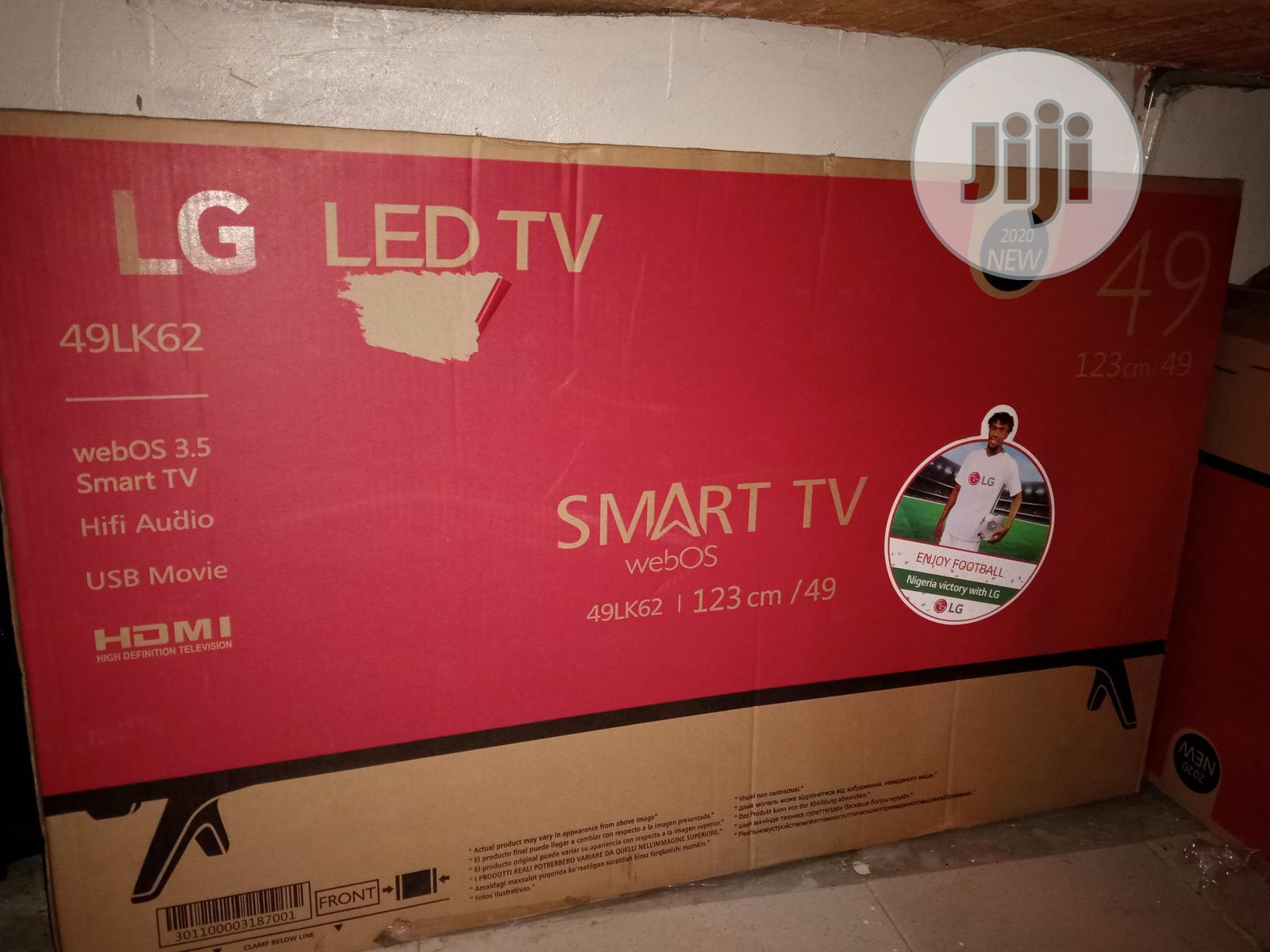 Archive: 49 Inch LG Smart TV