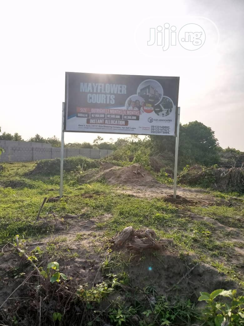 Very Good Residential Land For Sale. Government Gazette Land | Land & Plots For Sale for sale in Sangotedo, Ajah, Nigeria