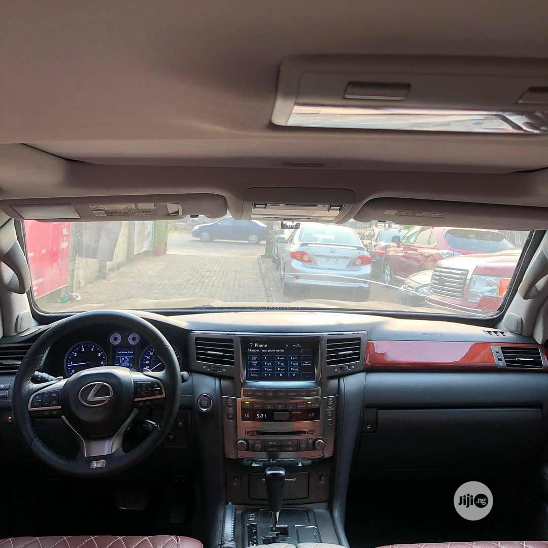 Lexus LX 2010 570 Black | Cars for sale in Magodo, Lagos State, Nigeria