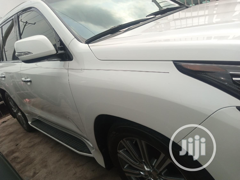 Lexus LX 2017 White | Cars for sale in Ikeja, Lagos State, Nigeria