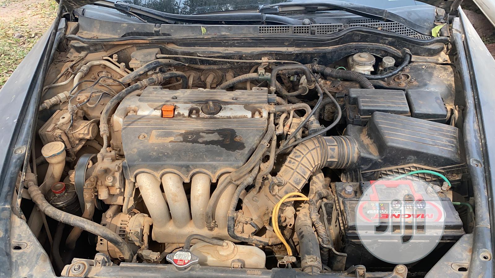 Honda Accord 2005 Black | Cars for sale in Ifako-Ijaiye, Lagos State, Nigeria
