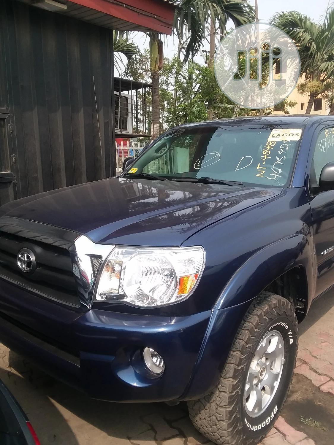 Toyota Tacoma 2007 Blue | Cars for sale in Victoria Island, Lagos State, Nigeria