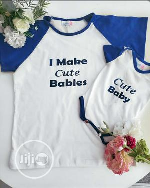 Cute Matching Mother And Me T-shirts And Rompers! | Children's Clothing for sale in Lagos State, Ikoyi