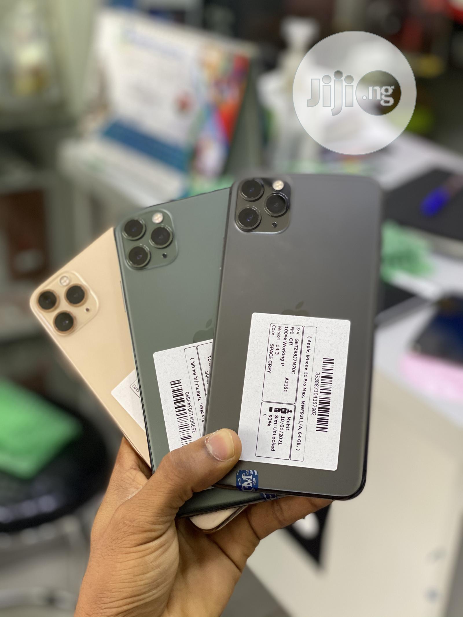 Apple iPhone 11 Pro Max 64 GB | Mobile Phones for sale in Ikeja, Lagos State, Nigeria