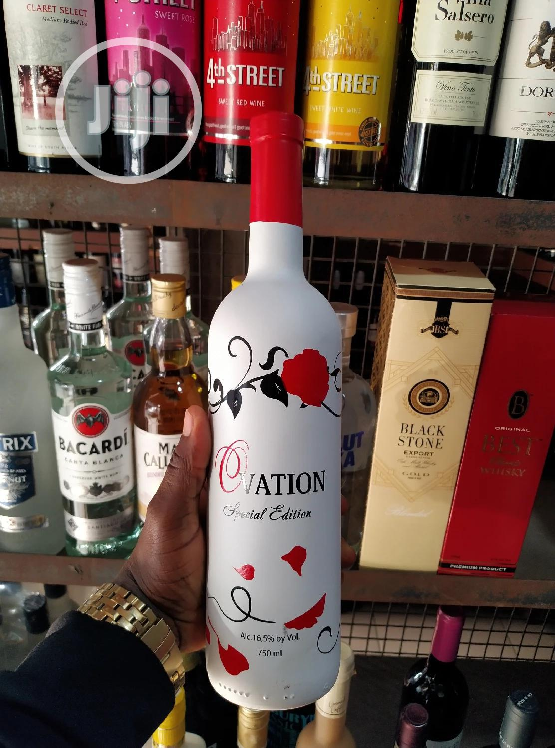 Ovation Red Wine Very Quality