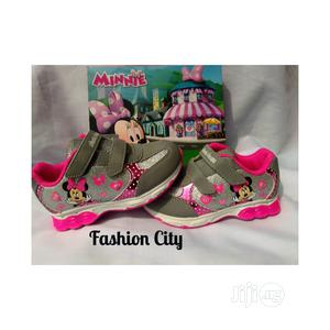 Brand New Disney Junior Character, Minnie Mouse Light Up Sne | Children's Shoes for sale in Lagos State, Amuwo-Odofin