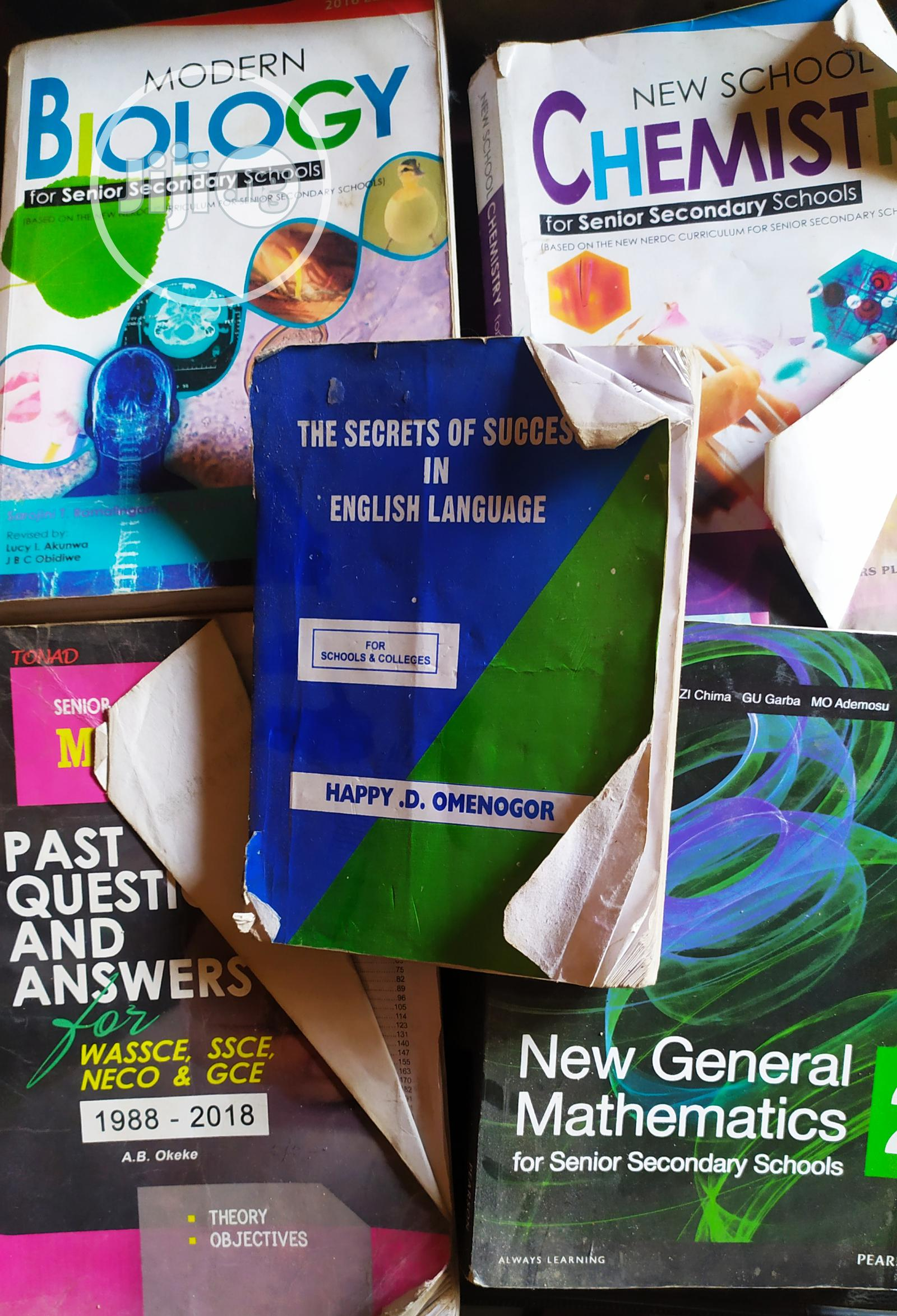Senior Secondary Educative Used Textbooks for Sale