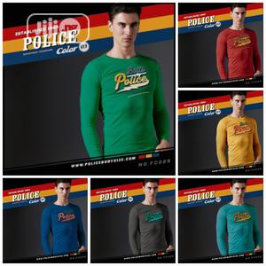 Police FC029 Medium Size Long Sleeve T Shirt   Clothing for sale in Lagos State, Surulere