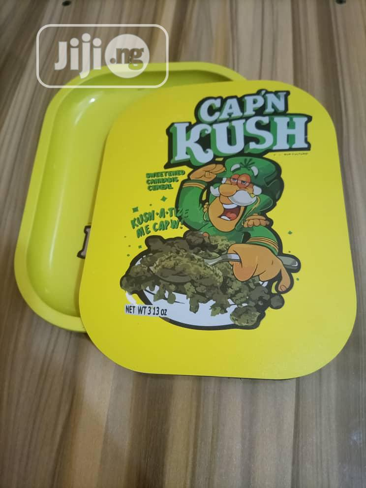 Herb Tray With Magnetic Lid